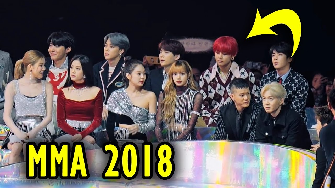 BTS MMA 2018 reactions (Blackpink mostly 😆)