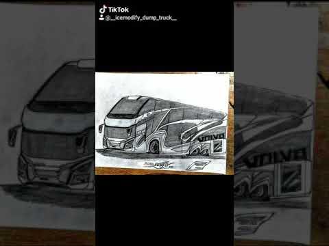 รวมภาพวาดรถบัส8ล้อVIPสวยๆ