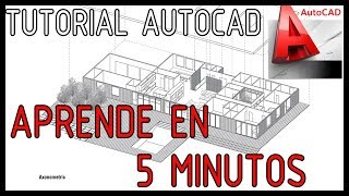 Autocad 2017 en 5 Minutos - Los comandos básicos para empezar