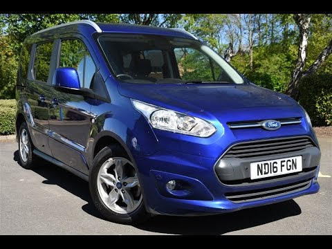 used ford tourneo connect 1 5 tdci 120 titanium 5dr deep. Black Bedroom Furniture Sets. Home Design Ideas