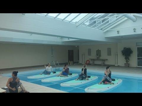 Indoor SUP Yoga - 09 June 2017