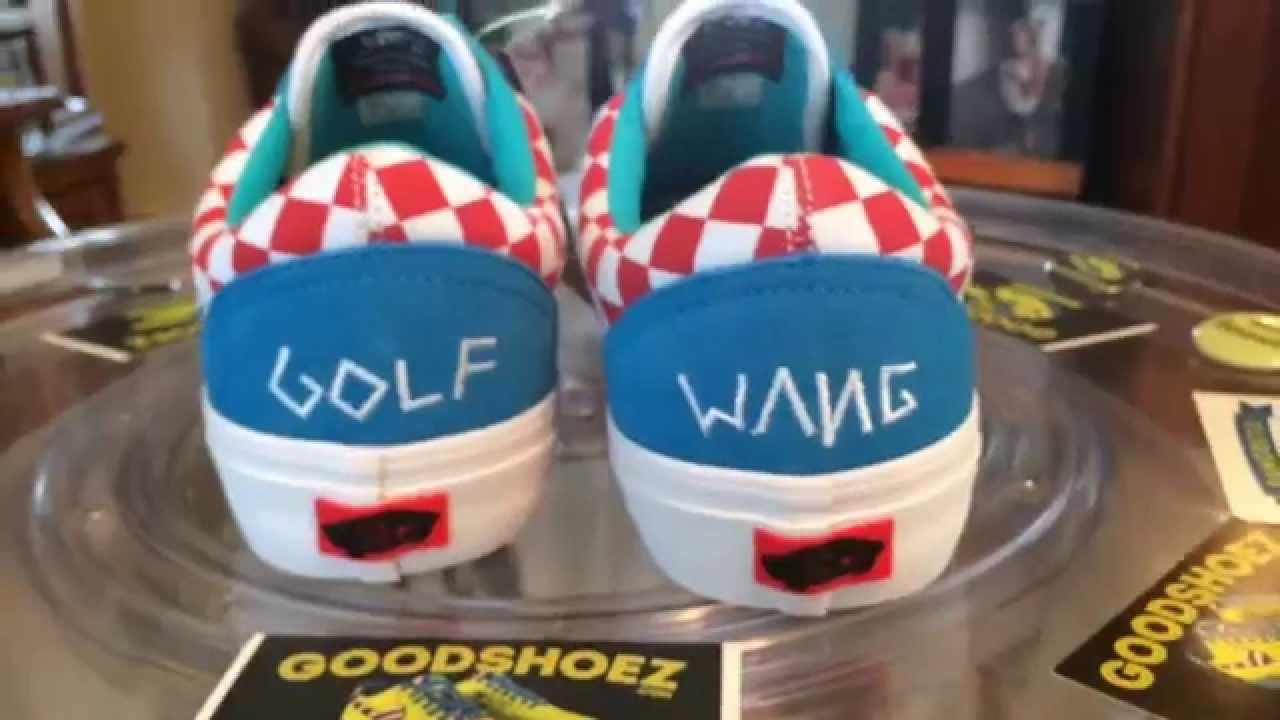 71662f05a94dbc Vans Old Skool Pro Skate - (Odd Future - Golf Wang 2015) - Blue ...