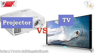 Projecter vs TV | Projector as a TV