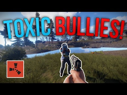 TOXIC BULLIES GET INSTANT KARMA!   Rust Solo Survival S3   #6