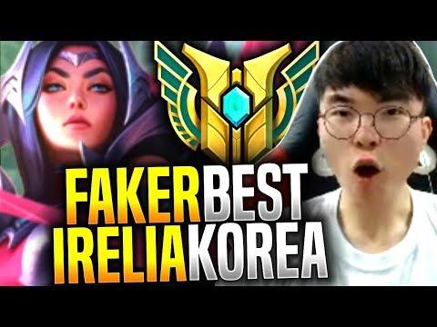 Faker is the Best Irelia in Korea! - SKT T1 Faker Picks Irelia Mid! | SKT T1 Replays