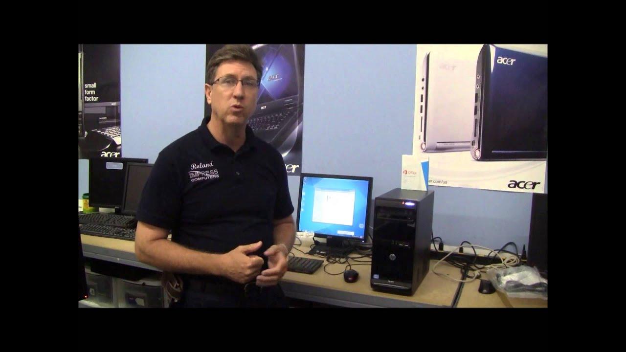 HP 3500 Pro i5 500gb 4gb DVDRW Win 7 Pro