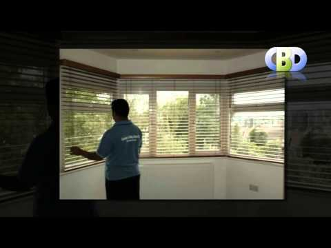 BayWindow Wooden Venetian Blinds at www.leadinginteriors.com