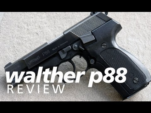 Review: the Walther P88 9mm - a quality German service pistol