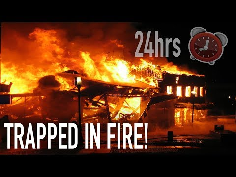 (GONE WRONG) 24 HOUR OVERNIGHT Challenge ABANDONED Insane Asylum!