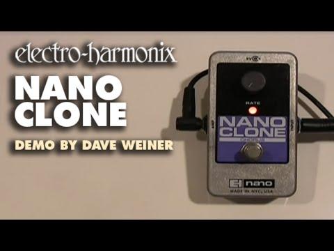 Nano Clone - Demo by Dave Weiner - Analog Chorus