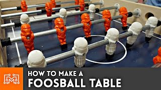 Foosball Table with 3d printing // How To