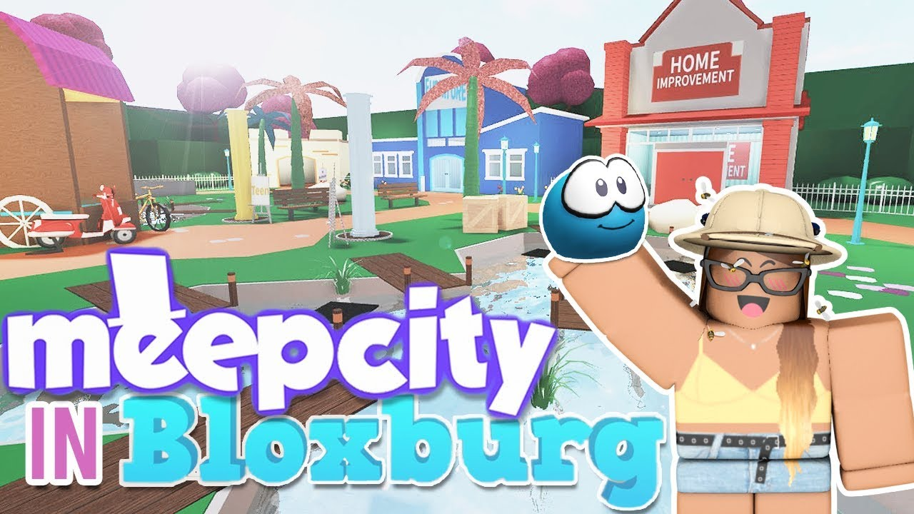 I MADE MEEP CITY IN BLOXBURG    then i tried to roleplay