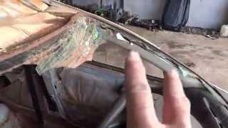 Trocando o teto de um Corsa