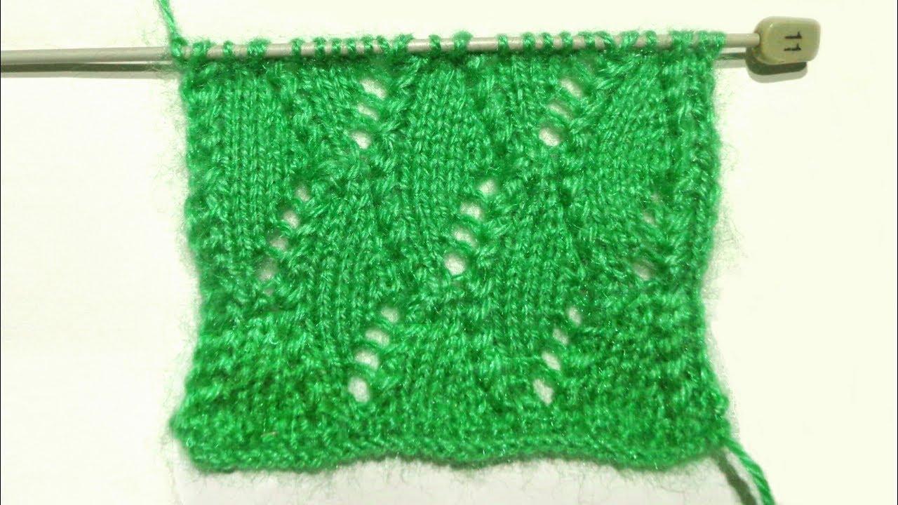 New Net Knitting Pattern Design In Easy Way Fashion Design