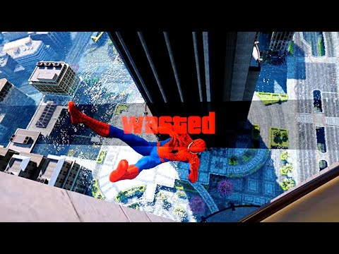 GTA 5 Epic Wasted Compilation SPIDERMAN Flooded Los Santos ep.60 (Funny Moments)
