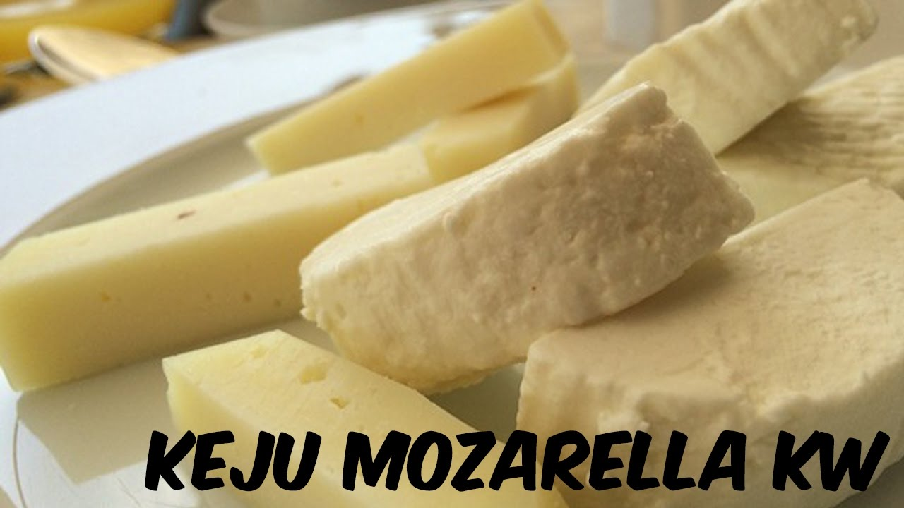 Cara Membuat Keju Mozarella Kw
