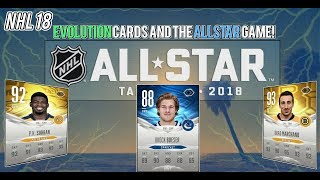 NHL 18 HUT | Allstar Game and Evolution Card Upgrades