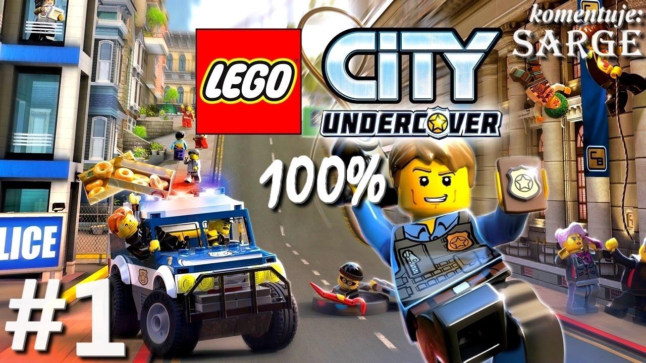 Zagrajmy W Lego City Tajny Agent 100 Odc 1 Gta W świecie Lego