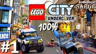 Zagrajmy w LEGO City Tajny Agent (100%) odc. 1 - GTA w świecie LEGO | LEGO City Undercover PL