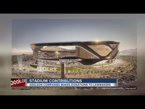 Companies led by stadium developer continued political donations before stadium special session