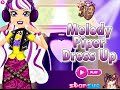 Ever After High Games- Melody Piper Dress Up- Fun Dress Up Fashion Games for Girls Kids