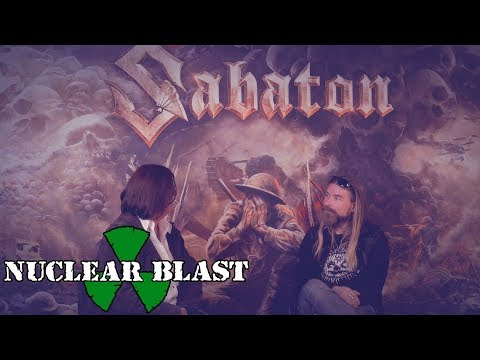 SABATON - Pär chats to Diane from the Heugh Battery Museum discuss the band&39;s fundraiser