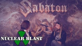 SABATON – Pär chats to Diane from the Heugh Battery Museum discuss the band's fundraiser