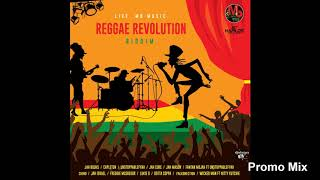 Reggae Revolution Riddim Mix (Full, Jan 2019) Feat. Jah Cure, Jah Bouks, Fanton Mojah, Capleton, ...
