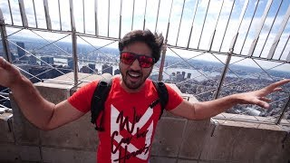 ON THE TOP OF EMPIRE STATE