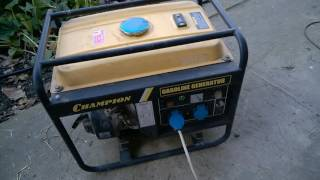 видео Масло для генератора