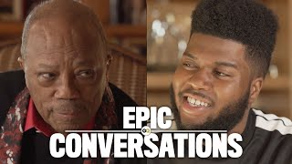 Quincy Jones and Khalid