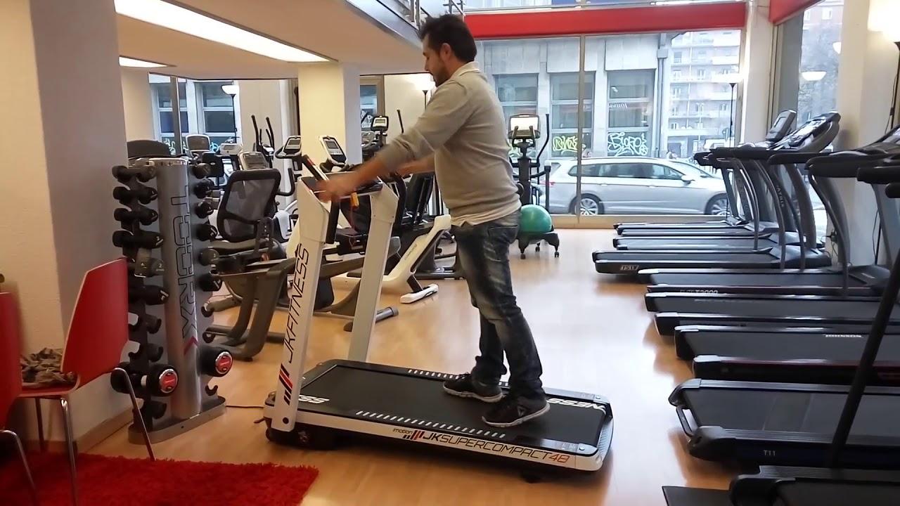 Tapis roulant jk fitness sc home fitness bologna youtube