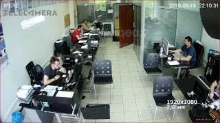 Тестовая видеозапись с IP камеры IPEYE-DA2-SUR-2.8-12-01