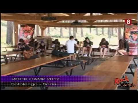 Rock Camp 2012. Reportaje en Televisión Castilla y León