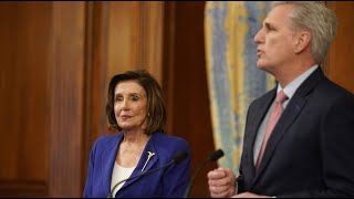 McCarthy under fire for saying 'it will be hard not to hit' Pelosi during event