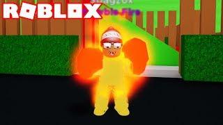 Roblox → I TURNED the HUMAN TORCH ► Roblox Pyro Simulator 🎮