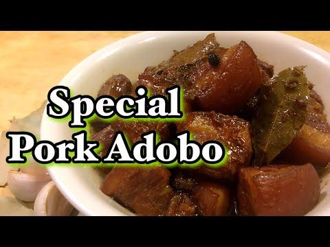 SPECIAL PORK ADOBO RECIPE   HOW TO COOK PORK ADOBO   BEST ADOBO RECIPE   Pepperhona08