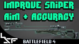 Improve Sniping Aim & Accuracy | Dragshot and Quickscope Guide - BF4 Recon Tutorial