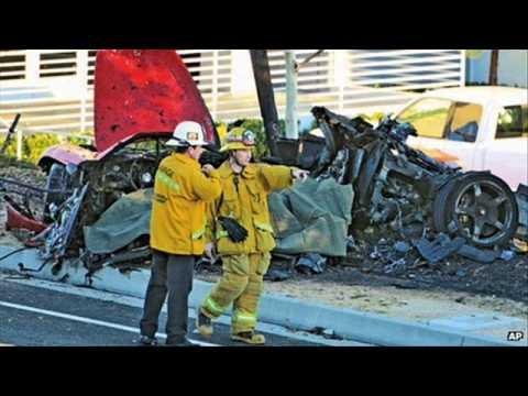 Paul Walker Car Crash Caught On Film