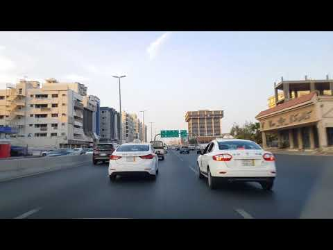 Jeddah Tour 2018 (King Fahad Road) Amazing VIEW