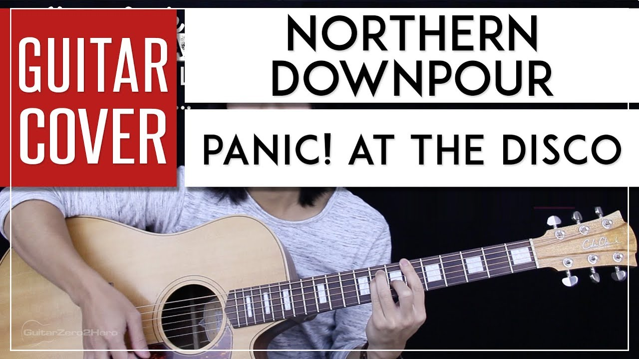 Northern Downpour Guitar Cover Acoustic   Panic At The Disco 🎸  Tabs +  Chords