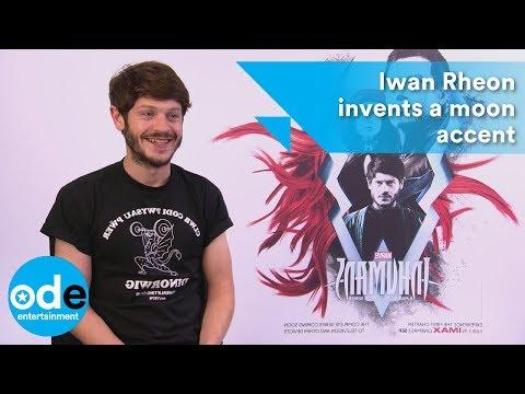 INHUMANS: Iwan Rheon invents a moon accent