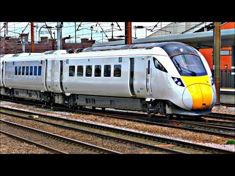 Trains at Doncaster Station | 28/03/18