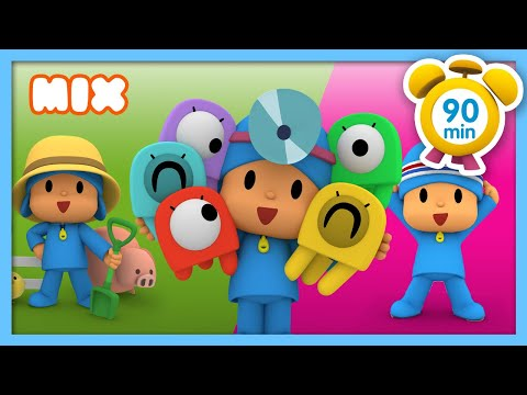 🎼 POCOYO in ENGLISH - Most Viewed songs [90 min]   Full Episodes   VIDEOS and CARTOONS for KIDS
