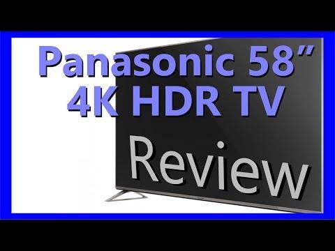 Panasonic 4K HDR TV Review TX-58DX700B