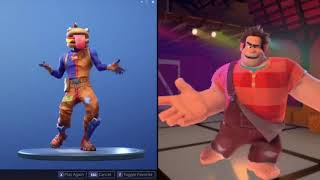 *NEW* Free Hot Marat Emote! Fortnite [Disney Wreck It Ralph]