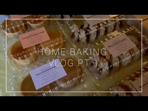 ✩ HOME BAKING VLOG PT. 1 ✩ Watch me grow my little home business!