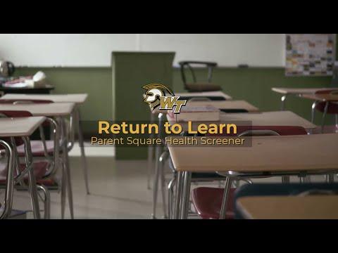 Return To Learn   Parent Square Health Screener - Waiakea Intermediate School