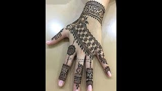 Amazing trick,easy beautiful mehndi || henna designs || easy arabic mehndi designs || mehndi