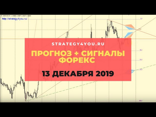 Прогноз EURUSD (+9 пар) на 13 ДЕКАБРЯ 2019 + сигналы, обзоры, аналитика форекс